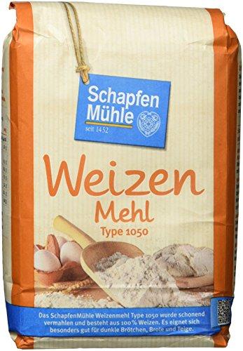 Schapfenmühle Weizenmehl 1050, 1 kg