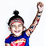 Superheroes - Designer Temporary Tattoos