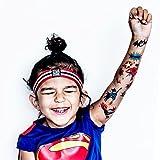 Superheroes - Designer Temporary Tattoos
