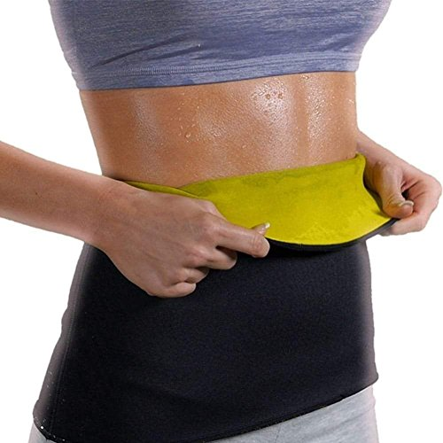 Creatif Ventures Waist Trimmer Belt for Men and Women Look Slim Belt Instantly Double Strength Belt Tummy Trimmer