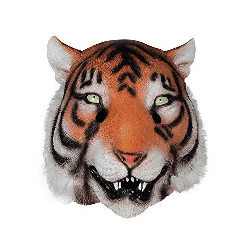 Forum Novelties Tiger Maske: Deluxe Latex Animal Mask