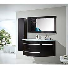 Meuble salle de bain 60cm for Amazon meuble salle de bain