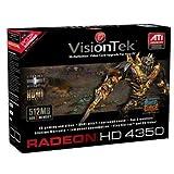 Visiontek - Radeon HD4350 PCIE 512MB