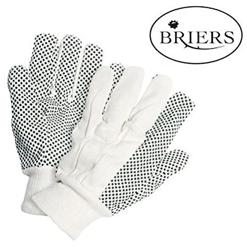 cotton-drill-with-pvc-dots-mens-gloves-large