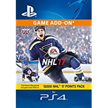 Image of 12000 NHL 17 Points Pack [PS4 PSN Code - UK account] - Comparsion Tool