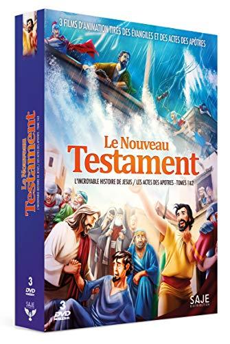 Coffret le nouveau testament 3 films ; l'incroyable histoire de jésus ; les actes des apôtres 1 et 2 [FR Import]