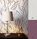 NEWROOM Tapete Grau Streifen Linien Modern Vliestapete lila Vlies moderne Design Optik Streifentapete Landhaus inkl. Tapezier Ratgeber