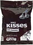 Hershey Kisses Milk Chocolate Bag 150 g (Pack of 2)
