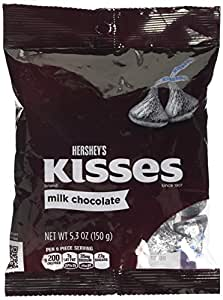 Hershey Kisses Milk Chocolate Bag 150 g (Pack of 2)