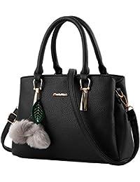 8553ddd6f1ca8 Bequemer Laden Damen Handtaschen Fashion Handtaschen für Frauen PU Leder  Schulter Taschen Messenger Tote Taschen