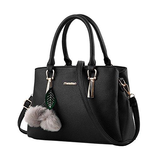 Bequemer Laden Damen Handtaschen Fashion Handtaschen für Frauen PU Leder Schulter Taschen Messenger Tote Taschen