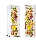 Pegatinas 3D Vinilo para Frigorífico verduras | Varias Medidas 185x60cm | Adhesivo Resistente y de Fácil Aplicación | Pegatina Adhesiva Decorativa de Diseño Elegante