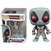 Marvel Deadpool Película X-Force Dos Espadas Exclusivo Funko ¡ Pop! vinilo Bobble-Head Figura