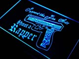ADV PRO s137-b Shoot a Rapper Rap Mixer Guns DJ Neon Light Sign Barlicht Neonlicht Lichtwerbung