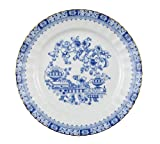 Frühstücksteller 19 cm Fahne Dorothea China Blau 24800 von Seltmann Weiden