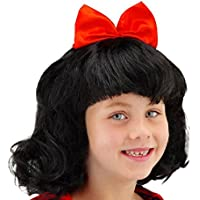 Folat 26800 - Peluca de Blancanieves para niños, ...