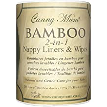 Toallas Desechables de Bambú y Forros para Pañal