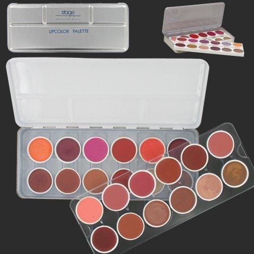Palette professionnelle de 24 rouges à lèvres