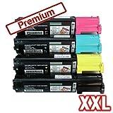 Kompatibles Toner Sparset für Epson Aculaser C1100 C1100N CX11N CX11NF CX11 NFC C13S050190 C13S050189 C13S050188 C13S050187 Sparset