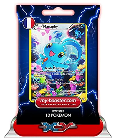 MANAPHY Full Art XY113 70PV XY11 - Booster de 10 cartes Pokemon francaises my-booster
