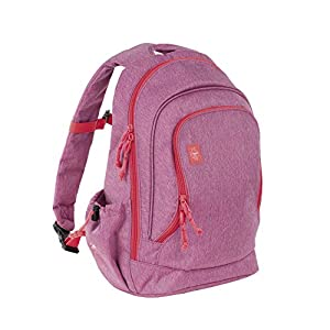 Lässig Big Backpack About Friends mélange pink Sac à dos enfants, 42 cm, Rose (Pink)