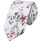 JUNGEN Corbata de Punto para Hombres Mujer Corbata Estampada con Patr/ón de coraz/ón Corbata Informal de Estrecha Corbata Fiesta Corbatas de Cuello