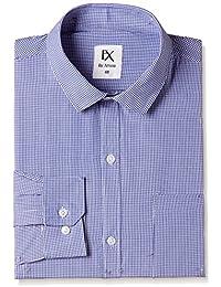 EX By Excalibur Men's Checks  Regular Fit Formal Shirt (Pack Of 2)