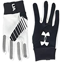 Under Armour Field Player's Glove 2.0 Guantes, Hombre, Negro (Black/White 001), M