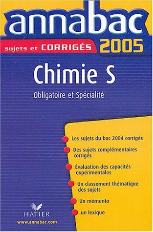 Chimie S Enseignement obligatoire et de spécialité