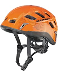 Mammut Helm Rock Rider - Casco de escalada, otoño/invierno, unisex, color naranja - orange - smoke, tamaño S/XL (56 - 61 cm)