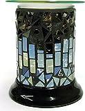 Woodwick Duftlampe Midnight zum Schmelzen, glatt, elektrisch, Warmer-für Yankee Candle Tarts