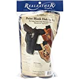 Realeather Crafts Leather Leathercraft Kit Point Blank Holster