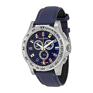 Nautica NST 600 A19597G Mens Watch 12-Flags dial
