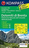Gruppo di Brenta: Wandern, Rad und Skitouren. 1:50.000