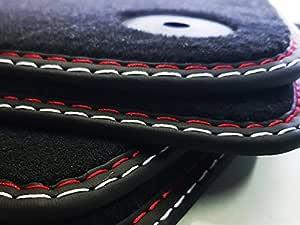 Auto-Matte CHEVROLET CRUZE J300 Original Qualität Doppelnaht Fußmatten Velours