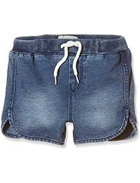 NAME IT Nitsol Rich K Reg Dnm Shorts Noos, Pantalones Cortos Para Niñas