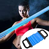 [Sponsored]FITSY® Yoga Pilates Elastic Stretch Resistance Tension Band With Handles