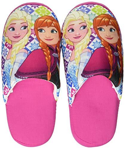 De fonseca roma g570, pantofole aperte sul retro bambine e ragazze, rosa fucsia, 32/33 eu