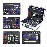 WORKPRO Boite à Outils Kit d'outils Professionnel avec Mallette en Aluminium pour...