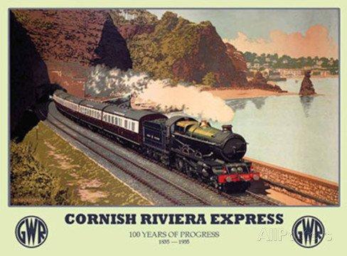 cornish-riviera-express-gwr-locomotiva-treno-vapore-per-il-cornish-costa-flying-scotsman-per-casa-ca