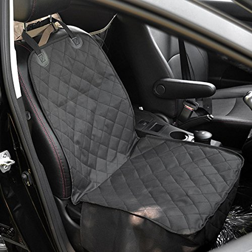 Groovy Amzdeal Car Seat Covers Dogs Car Seat Cover Front Single Car Seat Protector Waterproof With Nonslip Back Fits Universal Cars Trucks Suvs Uwap Interior Chair Design Uwaporg