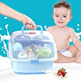 Best Nursing Bottles - Baby Portable Bottle Drying Racks with Anti-dust Cover Review