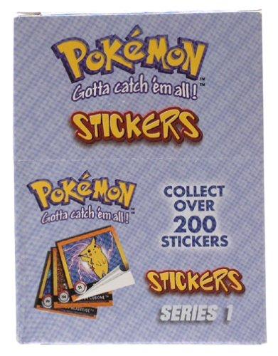 POKéMON Sticker (10 Stück) (Pokemon Geschenk-karte)