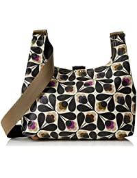 Orla Kiely Matt Laminated Sycamore Seed Print Mini Sling Bag