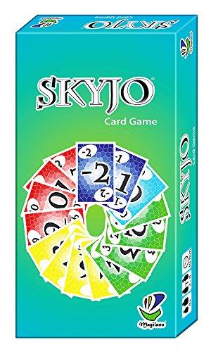 Preisvergleich Produktbild SKYJO, von Magilano - Das unterhaltsame Kartenspiel für Jung und Alt. Das ideale Gesellschaftsspiel für spaßige und amüsante Spieleabende im Freundes- und Familienkreis.