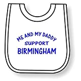 by The Bees Tees The Bees Tees Birmingham Baby's Football Bib: Daddy's Support Bild