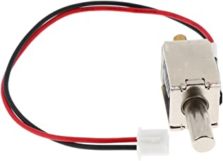 Anbau DC 12V Electric Solenoid Controlling Lock Tongue Push-Pull Durable Lock for Door Cabinet Drawer Safety DIY