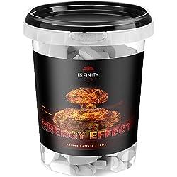 300 Tabletten Energy Effect, Koffein - Hochdosiert + Vegan, Coffein - Caffeine/stärkste Fettverbrennung - Fatburner - Ausdauer