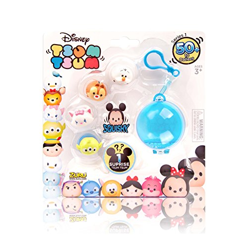 Tsum Tsum - Paquete de 5 mini figuras Disney, multicolor (5804)