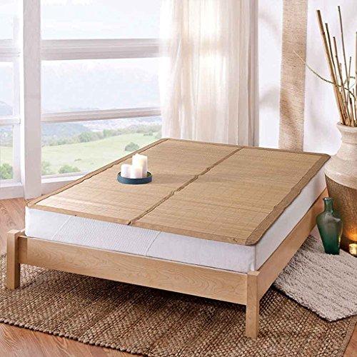 Liuyu · Matelas frais Mahjong d'été mat 1.5m Matelas dortoir simple étudiant 0.9 Mètre 1.2 Matelas bambou double face Mat d'été 1.8m lit (taille : 150 * 200cm)
